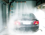 Water softeners for car washes